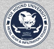 Fox Hound University - Metal Gear Studies by Chronotaku