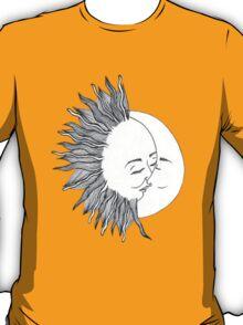 Sun and Moon Kissing T-Shirt
