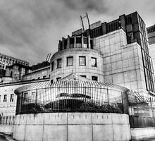Secret Service Building London by DavidHornchurch