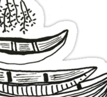 Lazy Afternoon Seed Boats Sticker