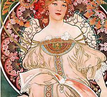 Spring - art nouveau by beforethedawn