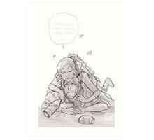 Daryl Dixon & Beth Greene - 02 Art Print
