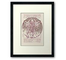 Lovecrafian Man Framed Print
