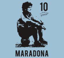 Diego Armando Maradona young 10 by maocat