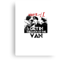 Withnail and I - Get in the Back of the Van Canvas Print