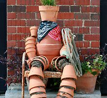 Terracotta Cowboy  by Misty Lemons