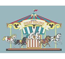 Man's Noblest Companion Carousel Photographic Print