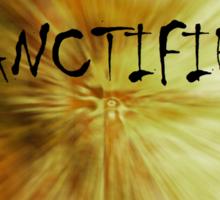 Sanctified Sticker