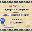 Special Recognition -Through the Haze by Susan Werby