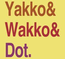 Animaniacs (Yakko, Wakko, Dot) Kids Clothes