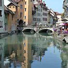 Bridge of Annecy by Capture the Course Photography by Pikachunicorn