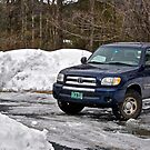 3/27/14 Snow to melt 2 by Carolyn Clark