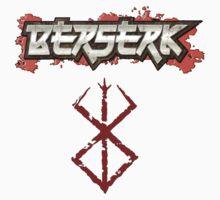 Berserk Logo with Brand by hardrada
