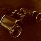 WWII Binoculars  by Stephen Thomas