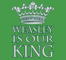 Weasley Is Our King (Slytherine) by Kallistiae