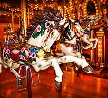 Carousel Race by Spencer McDonald