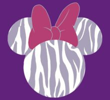 Zebra purple Minnie Mouse by sweetsisters