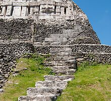 Xunantunich Mayan Ruins In Belize  by yobab