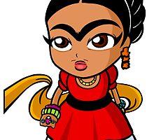 Chibi Frida by chibicelina