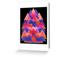 Chaos become Beauty  Greeting Card