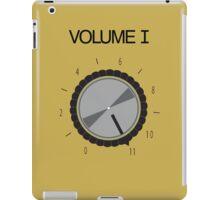Volume I iPad Case/Skin