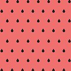 Watermelon Pattern by fennirose