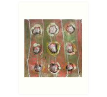 Abstract Expressionism 6 Art Print