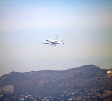 Endeavour and the Hollywood Sign by intellichick
