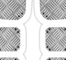 Mens armour Sticker