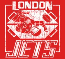 London Jets Distressed by 8balltshirts