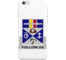 293rd Infantry Regiment - Follow Us iPhone Case/Skin