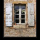 Window - Rennes le Chateau by Roberta Angiolani