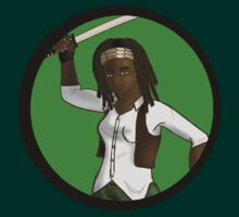 Michonne by charmedward