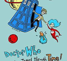 Dirk Strangely's Dr. Seuss style Doctor Who by Dirk Strangely