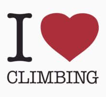 I ♥ CLIMBING by eyesblau