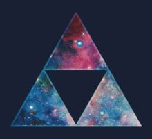 Triforce - Ancient Magical Symbol, Sierpinski Triangle by nitty-gritty