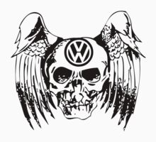 cool vw skull by diannasdesign