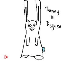 """""""Bunny in Disguise"""" by Richard F. Yates by richardfyates"""