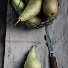 Still Life with Pears by AugenBlicke