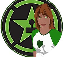 Achievement Hunter Lindsay Tuggey by FloppyNovice