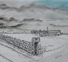 Stockbridge Fence by Jack G Brauer