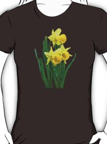 Daffodils Tall and Short T-Shirt