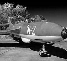 Hawker Hunter FGA.78 aircraft. by Robert Gipson