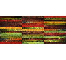 Forty Five Stripes Photographic Print