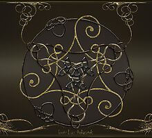 Gold Romantic Celtic Triskel by Bluesax