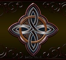 Wood Celtic Cross by Bluesax