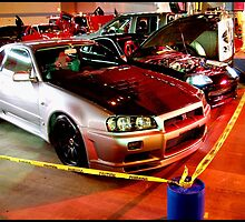 Nissan Skyline R34 GT-R  by Godfoot808