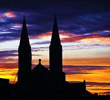 Commercial Sunset by Nik Watt