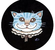 Cheshire Puss by Anita Inverarity