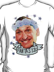 Ninth Doctor Flower Crown T-Shirt